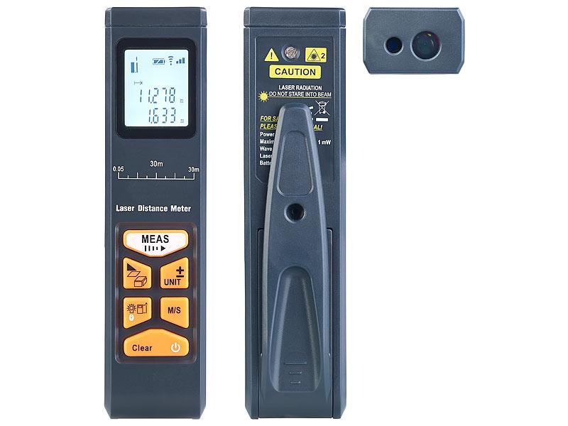 Infrarot Laser Entfernungsmesser : Agt laser entfernungsmesser mit lcd bluetooth messbereich cm m