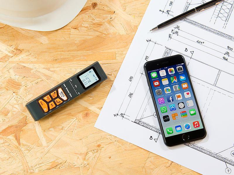 Laser Entfernungsmesser App Android : Entfernungsmesser mit app laser leica disto d