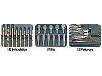 agt profi bohrer bit set 204 teilig inkl magnet adapt refurbished. Black Bedroom Furniture Sets. Home Design Ideas