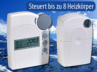 agt funk heizk rperthermostat set mit regler und stellantrieb. Black Bedroom Furniture Sets. Home Design Ideas